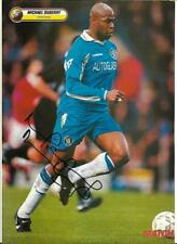 CHELSEA - MICHAEL DUBERRY - 1997-98 GENUINE SIGNED FULL PAGE MAGAZINE PICTURE