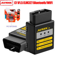 AUTOOL C1 ELM327 V1.5 Bluetooth/WIFI OBD2 Car code Reader For Android/IOS