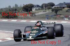 Mario Andretti Martini Lotus 80 Spanish Grand Prix 1979 Photograph 2