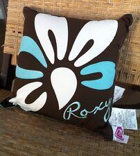 """🌺 Roxy Pillow Cushion 16""""x16"""" Embroidered Logo Beachhouse2017 🌴"""