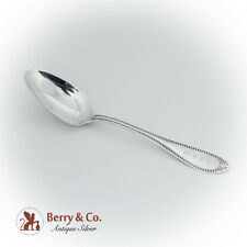 Beaded Coin Silver Tablespoon Retailer Tiffany Co 1860
