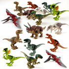 8 Sets MiniFigures Jurassic World Fits Lego Toys Tyrannosaurus Rex Triceratops