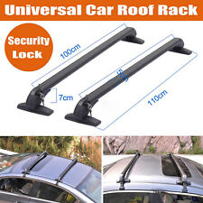 Aluminum Universal Roof Rack Cross Bar To Car With Rain Grooves Roof Accessories