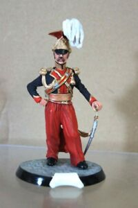 HINCHCLIFFE STADDEN 90mm BRITISH OFFICER 9th LANCERS 1820 STUDIO PAINTED ow