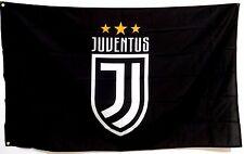 Juventus Flag Banner 3x5ft Football Italy Calcio Cristiano Ronaldo (150x90cm)