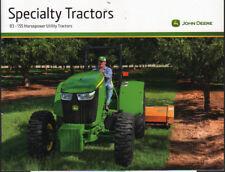"""John Deere """"Specialty"""" 83 - 155hp Utility Tractor Brochure"""