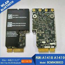 """Broadcom BCM94360CD 802.11ac Bluetooth 4.0 WiFi Card for 27"""" for iMac AirPort"""