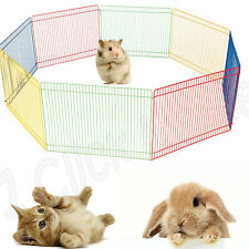 SMALL PET PLAYPEN Indoor Dog Cage Outdoor Portable Exercise Play Pen Cat Fence