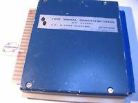 Foss Electric 242883 Test Signal Module Milko Mark III MK Milk Fat Tester - Used