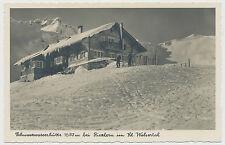 AK Schwarzwasserhütte bei Riezlern im Kl. Walsertal (R571)