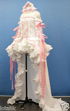Chii Cosplay Costume Custom Made WHITE + PINK< Lotahk >