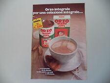 advertising Pubblicità 1975 ORZO BIMBO STAR