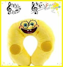 MUSIC PILLOW - SPONGEBOB TRAVEL U SHAPED SOUND PLUSH PILLOW FOR IPAD IPHONE IPOD