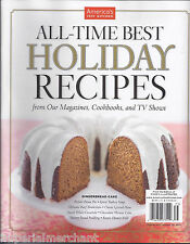 All Time Best Holiday Recipes magazine Gingerbread cake Pecan pie Pudding
