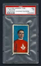 PSA 1 1910 C59 LaCROSSE CARD #84 JOE MALONE