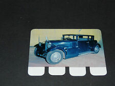 N°100 VOISIN TYPE CARENE 1932 PLAQUE METAL COOP 1964 AUTOMOBILE A TRAVERS AGES