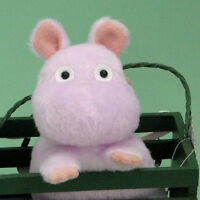 New Studio Ghibli Spirited Away Bounezumi Mouse Funwari Plush Doll Toy