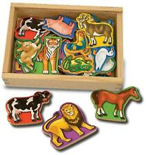 Melissa & Doug ANIMAL MAGNETS Developmental Toy BN