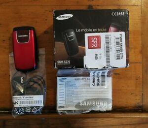 Téléphone Mobile Samsung SGH C270 - Rouge - SFR