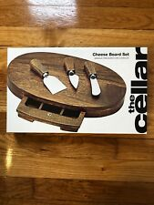The Cellar Oval Cheese Board Set
