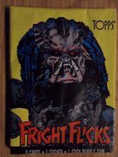Unopened Pack FRIGHT FLICKS Horror Movie Trading Cards ~ The Predator Wrapper