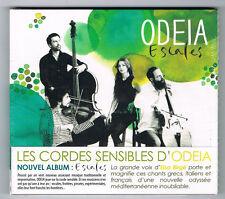 ODEIA - ESCALES - 13 TITRES - 2014 - NEUF NEW NEU