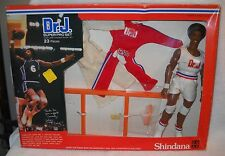 #4629 RARE NRFB Vintage Shindana Dr J Super Pro Set Julius Erving