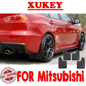 Mud Flaps For Mitsubishi Lancer Evolution EVO X Splash Guards Mudguards Mudflaps