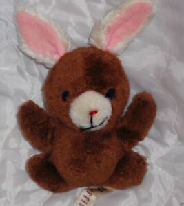 Vintage 1977 Russ MUFFIT Bunny Rabbit Old Worn Korea Nutshells Plush Stuffed Toy