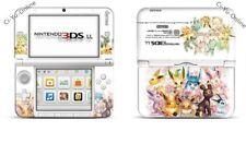 Nintendo 3DS XL Pokemon Eevee Evolutions Family VINYL SKIN STICKER DECAL