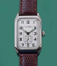 Vintage 1931 Art Deco Style Antique Illinois Men's Wrist Watch Made in USA