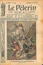 La Résurrection de Jesus Christ Tableau Charles André van Loo 1911 ILLUSTRATION