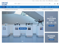 Flying Drones Store Turnkey Dropshipping Redymade Website Free hosting & set up