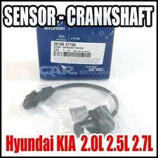 Hyundai KIA  2.0L 2.5L 2.7L Crankshaft Position Sensor Genuine OEM 39180-37150