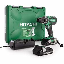 Hitachi Koki 18v Cordless Drill 2xBatteries DV18DBFL2 Brushless Combi Worklight