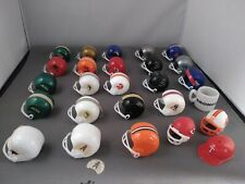 Vtg Mini OPI Football Helmets Toys from Gumball Machine (Lot of 22) plus extras