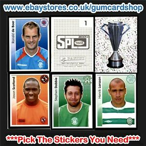 Panini SPL 2004 (SCOTTISH) 1 to 99 *Select the Stickers You Need*
