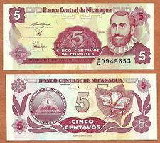Nicaragua,  1991, UNC, 5 Centavos de Cordoba, P-168a(2)