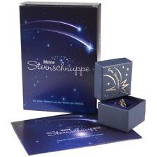 Sternschnuppe in Geschenkbox und Grußkarte Stern Besonderes Geschenk Kinder