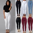 Sexy Women High Waist Slim Skinny Leggings Stretchy Pants Jeggings Pencil Pant
