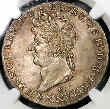 1829 NGC MS 61 2/3 Taler Hannover George IV King Britain POP 1/3 (16110810C)