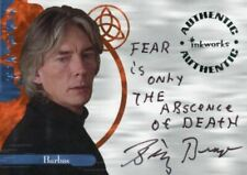 Charmed The Power of Three Billy Drago as Barbas Autograph Card A11 Variant #3