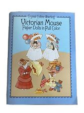 Victorian Mouse Paper Towels In Full Color Crystal Collins Sterling 1986 Vintage