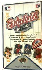1991 UPPER DECK BASEBALL BOX SERIES 1 (FIND THE NOLAN)