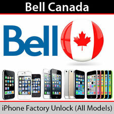 EXPRESS Factory Unlock Canada Bell / Virgin iPhone all models
