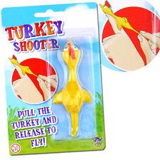 Turquía Shooter volar Juguete Niños Niñas Regalo Santa Secreto Navidad Stocking Relleno