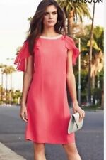 BNWT🌹Monsoon🌹Size 12 Jodie Tunic Dress Coral Wedding Races Party Cocktail New