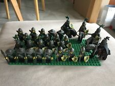 Lego Bulk Kingdoms Classic Castle Dragon Green Black Knights Army Minifigures