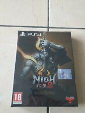 NIOH 2 SPECIAL EDITION PS4 PS 4 NUOVO SIGILLATO ITALIANO