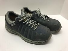 CATERPILLAR CAT Cameo Green Gray Shoes Womens Size 9.5 Work Safety Toe P90692